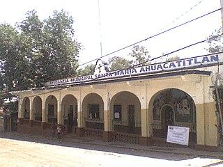 Santa María Ahuacatitlán Village in Morelos, Mexico