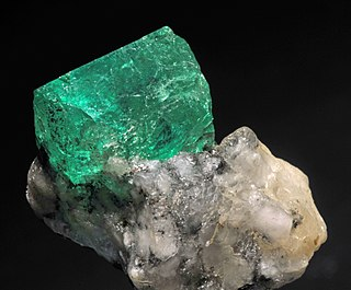 green gemstone, a beryl variety