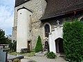 Březina (MB), kostel svatého Vavřince, schodiště na věž.jpg