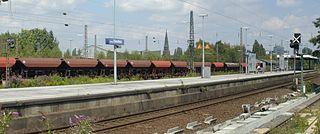 Bochum-Ehrenfeld station railway station in Germany