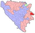 BH municipality location Srebrenica.png
