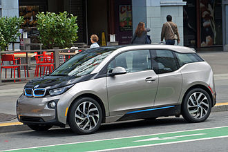 Moses Lake, Washington - The BMW i3 electric car uses carbon fiber–reinforced plastic manufactured in Moses Lake