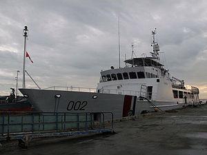 Philippine Coast Guard - Image: BRP 002 EDSA II