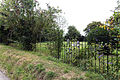 Back lane at north of Barfrestone church Kent England.jpg