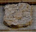 Bad Bergzabern Schlosshof Erläuterungstafel zur Uhr Detail Wappen 2.jpg
