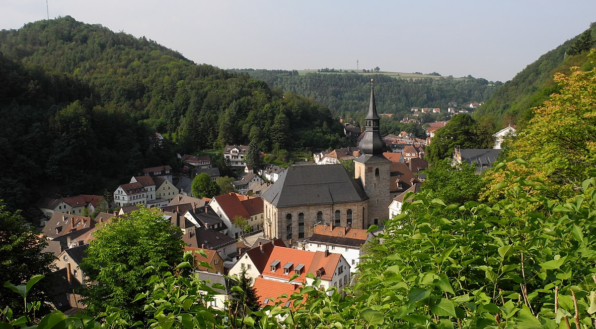Bad Berneck - Sicht vom Walpoten-Burgturm.JPG