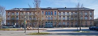 Toin Gakuen Schule Deutschland - Former main building of the school