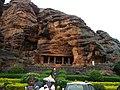 Badami rock cut temple number 1, called Badami mENada basadi.jpg