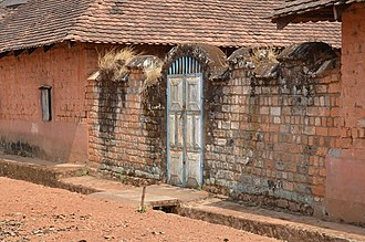 Fon of Bafut - The Fon's palace at Bafut was listed as one of the 100 most endangered monument sites in 2006