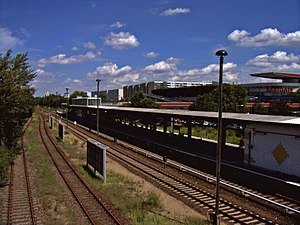 Wriezen Railway - Marzahn S-Bahn station