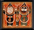 Balarama and Jagannath holding up their hands with Subhadra Wellcome V0017725.jpg