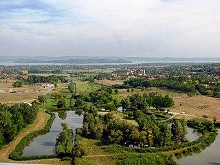 Kőröshegy Village in Southern Transdanubia, Hungary