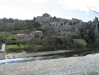 Balazuc - The Ardèche River in Balazuc