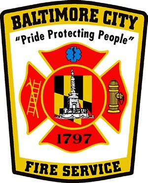 Baltimore City Fire Department - Image: Baltimore City Fire Department
