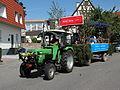 Bammental - Kerweumzug 2014 - Deutz-Fahr D 4507.JPG