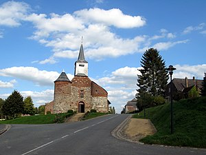 Bancigny - The church of Bancigny
