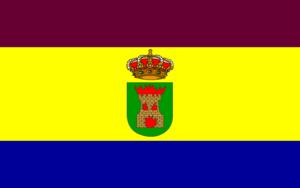 Ólvega - Image: Bandera de Olvega