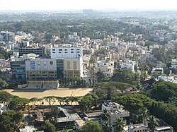 Bangalore Aerial view from MG road Utility Building 6.jpg