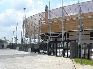 Thailand national futsal team - Image: Bangkok Fustal Arena