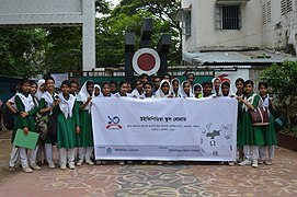 Bangla Wikipedia School Program at Agrabad Government Colony High School (Girls' Section) 03.JPG