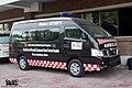 Bangladesh civil Nissan Urvan E26 ambulance (24918333080).jpg