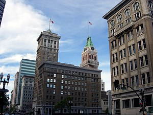 Bank of America Building (Oakland) - Image: Bank of America Building, Oakland
