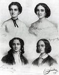 Barabás Portrait of four women 1855.jpg