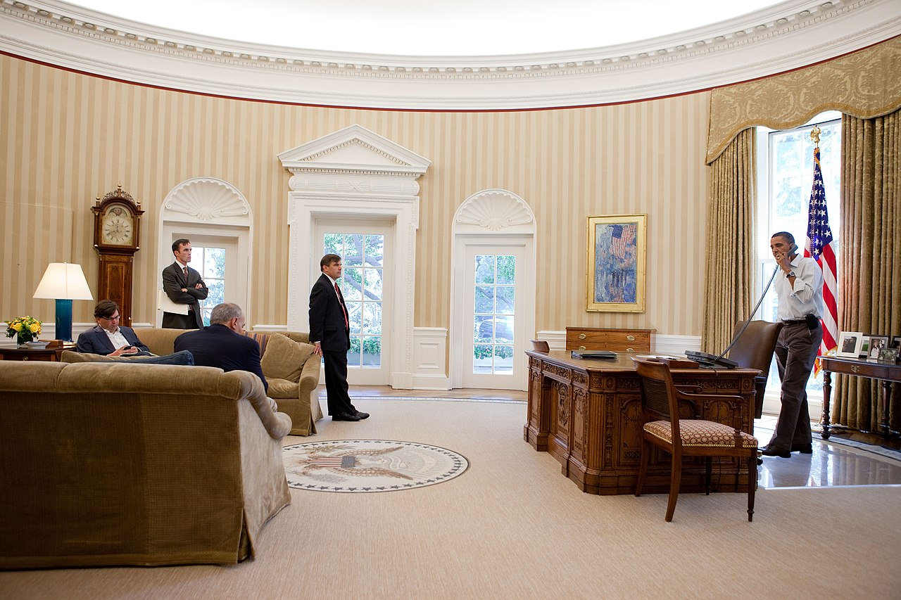 File barack obama in the oval office in september - Decoration bureau maison ...
