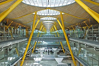Adolfo Suárez Madrid–Barajas Airport - Interior of Terminal 4