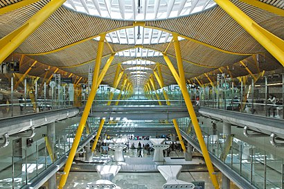 How to get to Aeropuerto Adolfo Suárez Madrid-Barajas with public transit - About the place