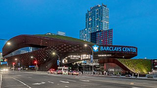 Barclays Center Arena in New York, United States