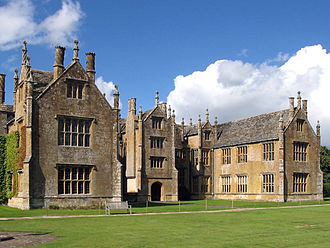 Barrington Court - The south front