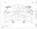 Basement Floor Plan - Center - Trans World Airlines Flight Center, John F. Kennedy International Airport, Jamaica Bay, Queens (subdivision), Queens County, NY HABS NY-6371 (sheet 5 of 32).png
