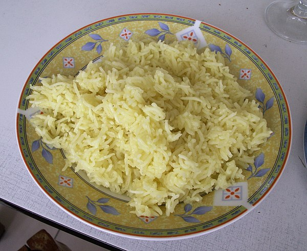 saffron rice saffron rice is a dish made from saffron white rice and ...