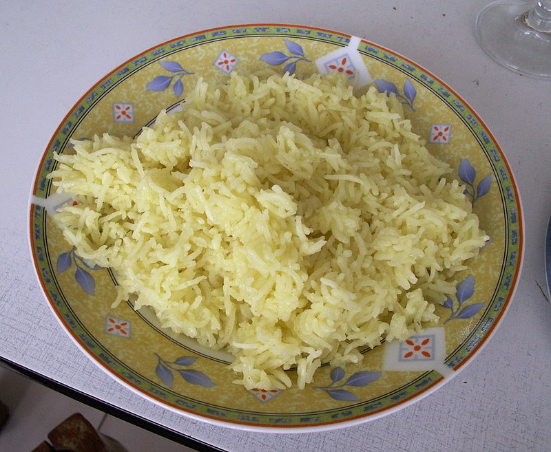 ملف:Basic saffron rice.JPG