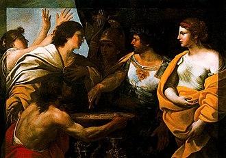 Giovanni Battista Ruggieri - Image: Battistino del Gessi Continencia de Escipión 1606 1640. Olio su tela. 140 x 194 cm. Galleria Nazionale d'Arte Antica, Roma