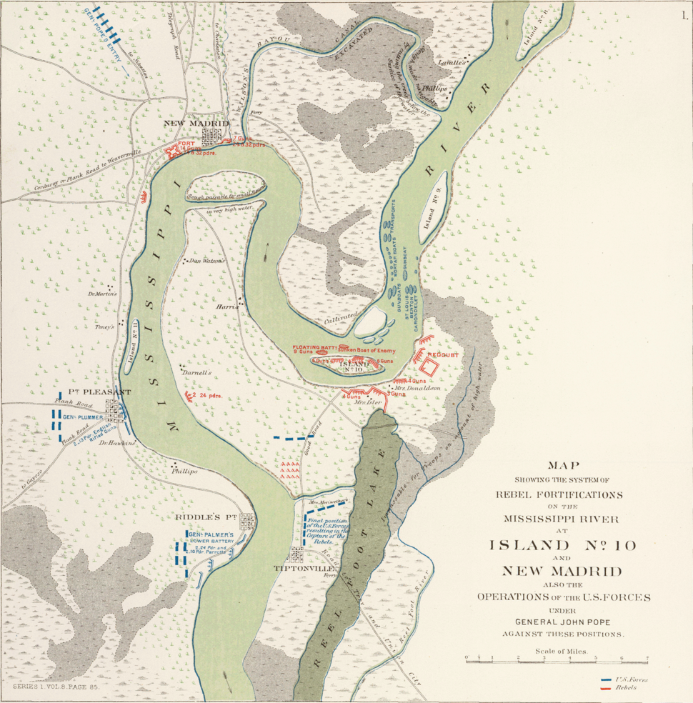 Battles of New Madrid and Island Number 10