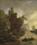 Bay with a Rocky Coast (Adam Pynacker) - Nationalmuseum - 17578.tif