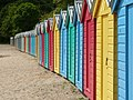 Beach huts, Llanbedrog - geograph.org.uk - 1050004.jpg