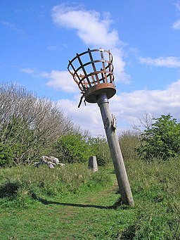 Beacon on Warton Crag - geograph.org.uk - 1281402