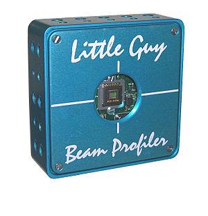 Laser beam profiler - A laser beam profiler.