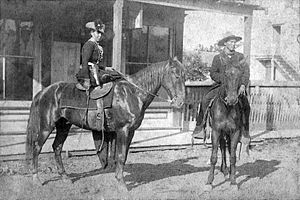 Belle Starr - Belle Starr, Fort Smith, Arkansas, 1886