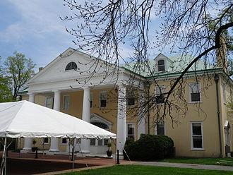 Bellevue State Park (Delaware) - Bellevue Hall at Bellevue State Park, a replica of Montpelier.