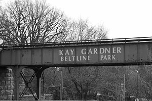 Beltline Trail - Image: Beltline Bridge