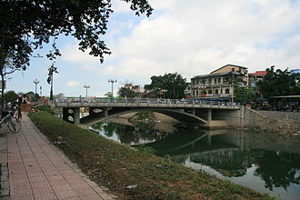 Huế chemical attacks - Bến Ngư Bridge, the location of the attacks