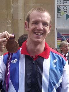 Ben Rushgrove British athlete