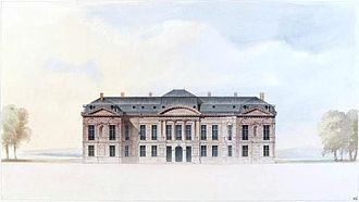 Bercy - Drawing of the Château de Bercy