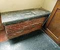 Berden St Nicholas interior - 24 William Turnor brick tomb.jpg