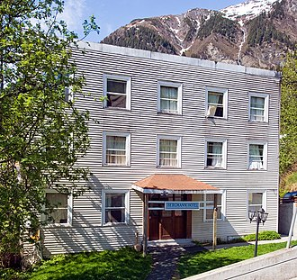 National Register of Historic Places listings in Juneau, Alaska - Image: Bergmann hotel