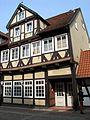 Bergstraße 14, Celle, hier wohnte Heinrich Eggers, Jahrgang 1896, im Widerstand erschossen am 11. April 1945 auf der Straße.jpg